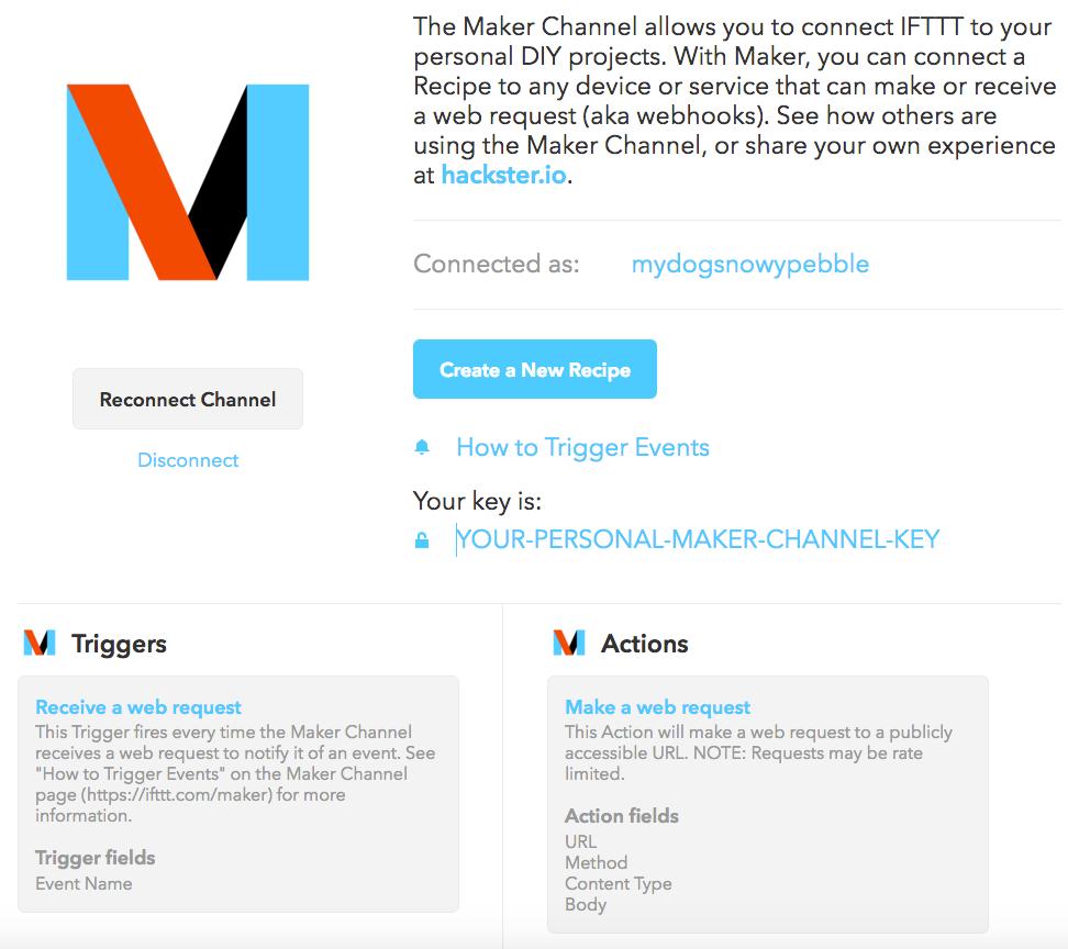 IFTTT Tutorial – Snowy
